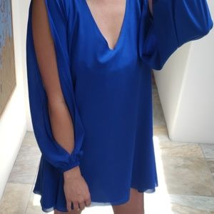 Blue Lovers + Friends flowy dress